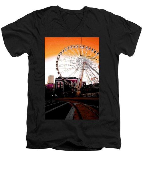 The Wheel  Men's V-Neck T-Shirt