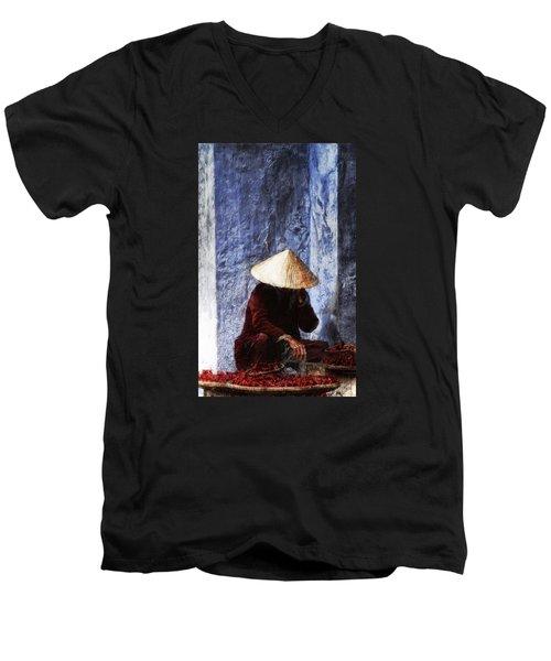 The Whistler Men's V-Neck T-Shirt