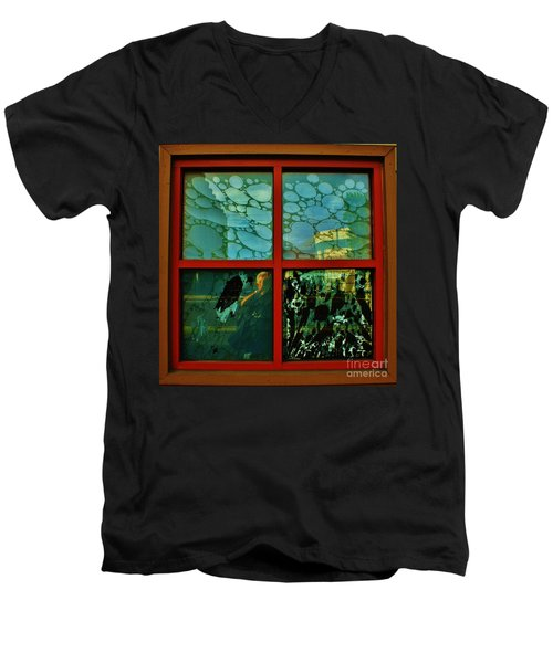 The Window Men's V-Neck T-Shirt by Craig Wood