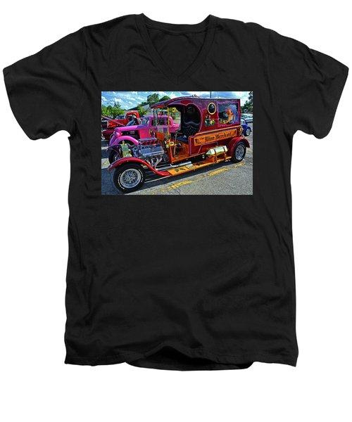 The Wine Merchant 001 Men's V-Neck T-Shirt