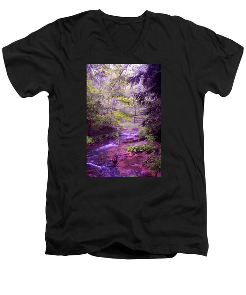 Men's V-Neck T-Shirt featuring the photograph The Wonder Of Nature by John Stuart Webbstock