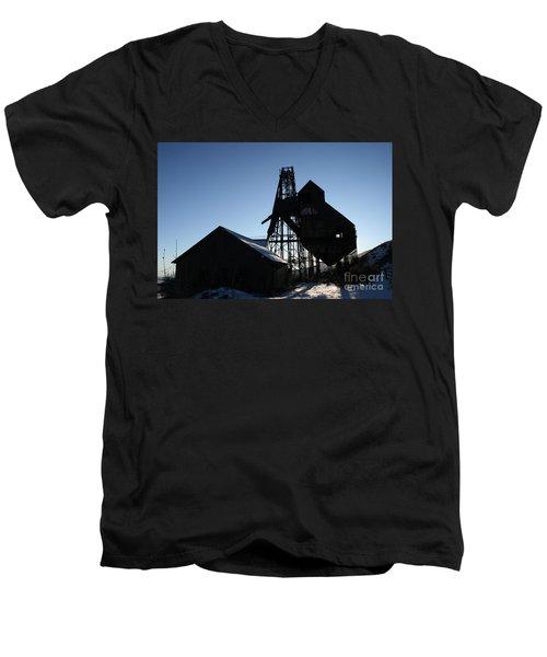 Theresa Mine Men's V-Neck T-Shirt