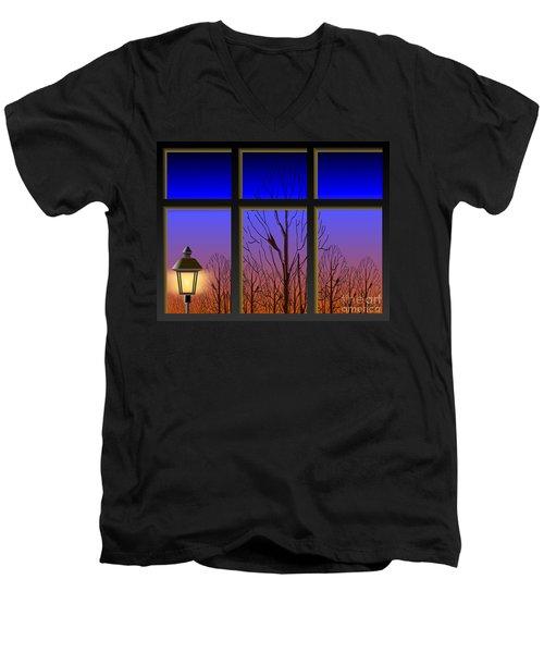 The Window II Men's V-Neck T-Shirt