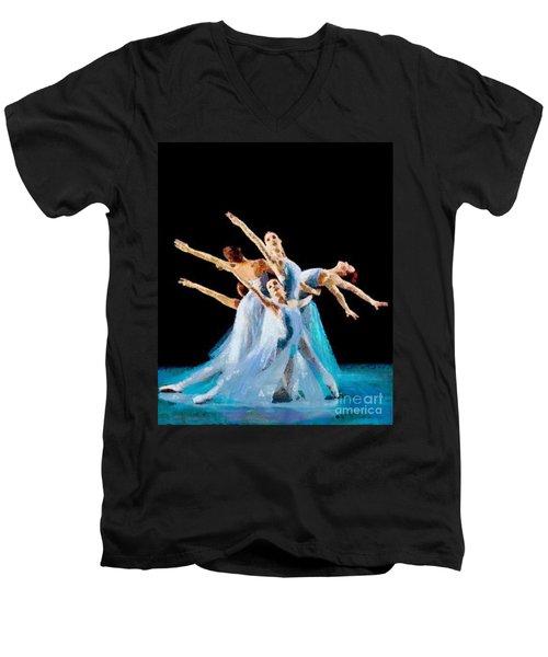 They Danced Men's V-Neck T-Shirt