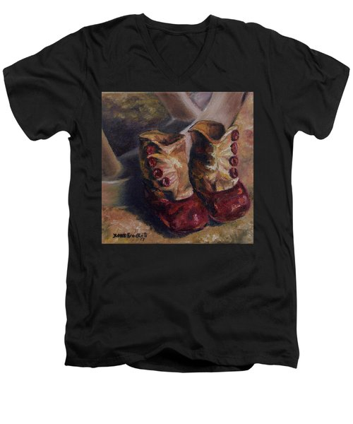 They Walked And Walked And Walked Men's V-Neck T-Shirt