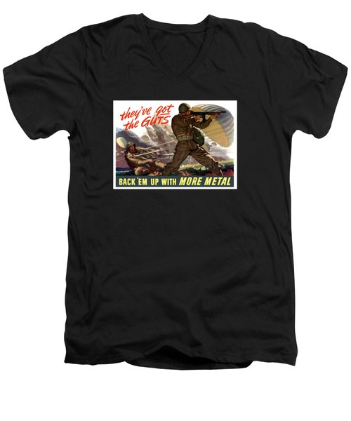 They've Got The Guts Men's V-Neck T-Shirt