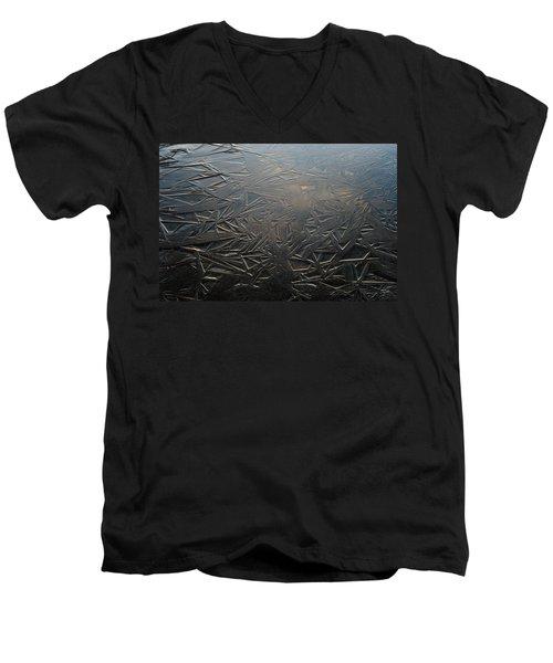 Thin Dusk    Men's V-Neck T-Shirt