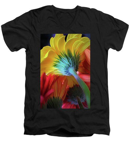Think Spring Men's V-Neck T-Shirt
