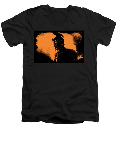 This Is Sparta Men's V-Neck T-Shirt