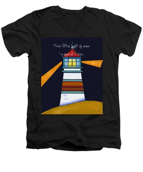 This Little Light Of Mine Men's V-Neck T-Shirt