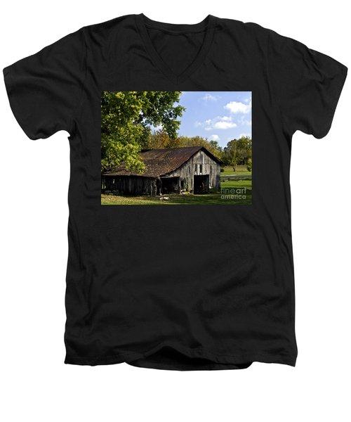 This Old Barn Men's V-Neck T-Shirt