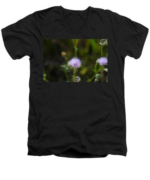 Thistles Morning Dew Men's V-Neck T-Shirt