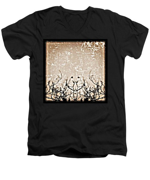 Thoughts Men's V-Neck T-Shirt