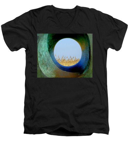 Through And Beyond Men's V-Neck T-Shirt