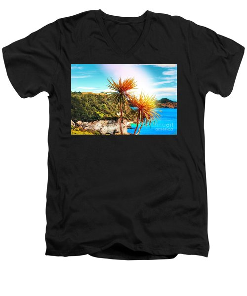 Ti Kouka Men's V-Neck T-Shirt