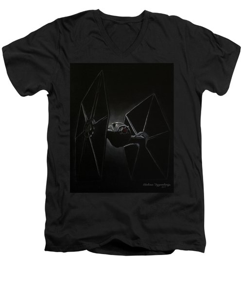 Tie Men's V-Neck T-Shirt