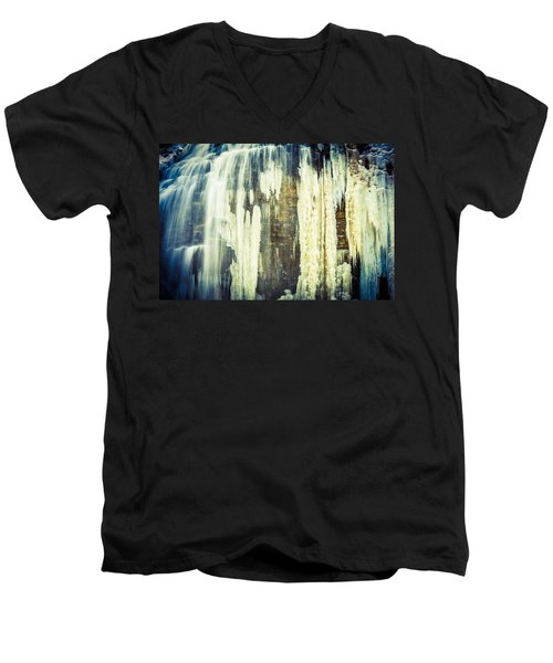 Water And Ice Men's V-Neck T-Shirt