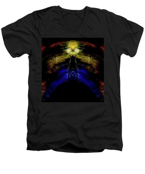 Tiger Tower Men's V-Neck T-Shirt
