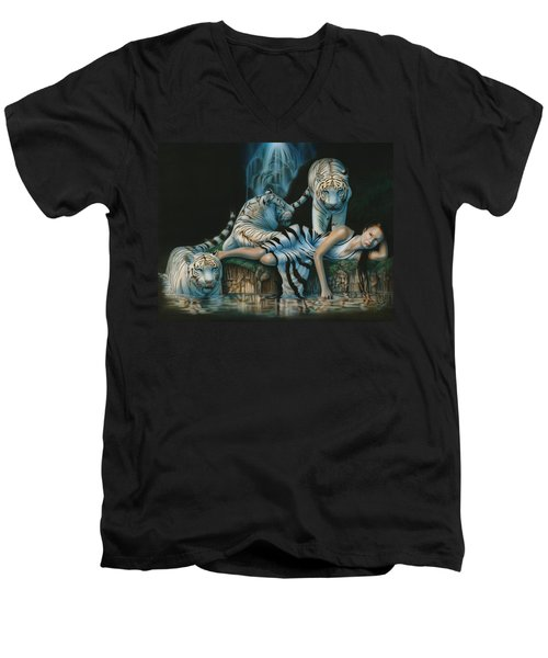 Tigress Men's V-Neck T-Shirt