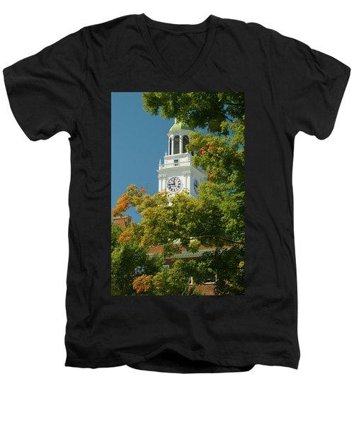 Time For Autumn Men's V-Neck T-Shirt
