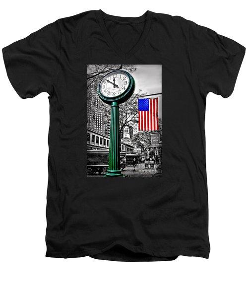 Time For Lunch Men's V-Neck T-Shirt