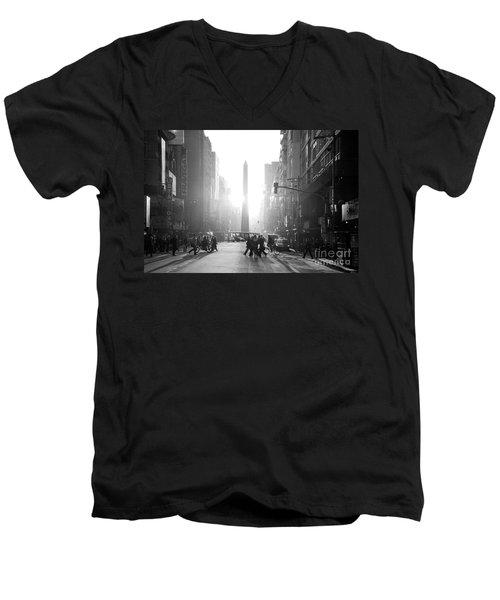 Timeless Buenos Aires Men's V-Neck T-Shirt