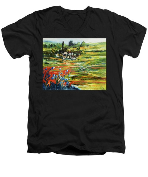 To The Country Born Men's V-Neck T-Shirt