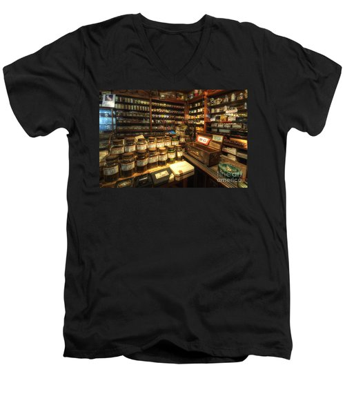 Tobacco Jars Men's V-Neck T-Shirt by Yhun Suarez