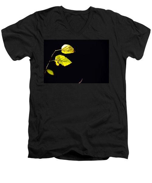 Together In Darkness Men's V-Neck T-Shirt