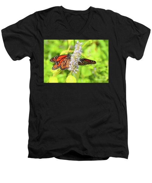 Together We Can Fly So High Men's V-Neck T-Shirt