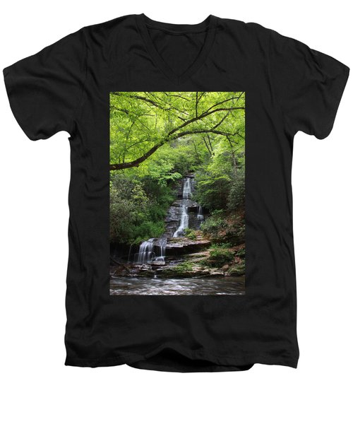 Tom Branch Falls - Gsmnp Men's V-Neck T-Shirt