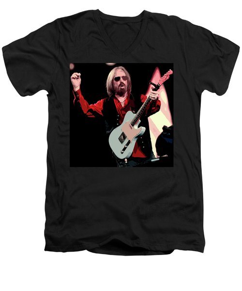 Tom Petty, Hypnotic Eye Men's V-Neck T-Shirt