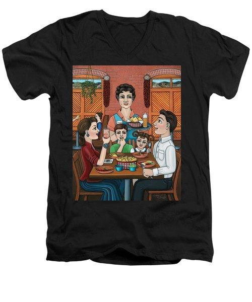 Tomasitas Restaurant Men's V-Neck T-Shirt