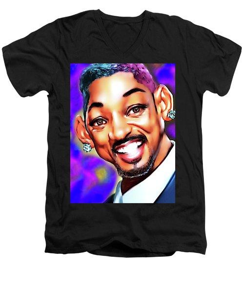 Too Fresh Men's V-Neck T-Shirt