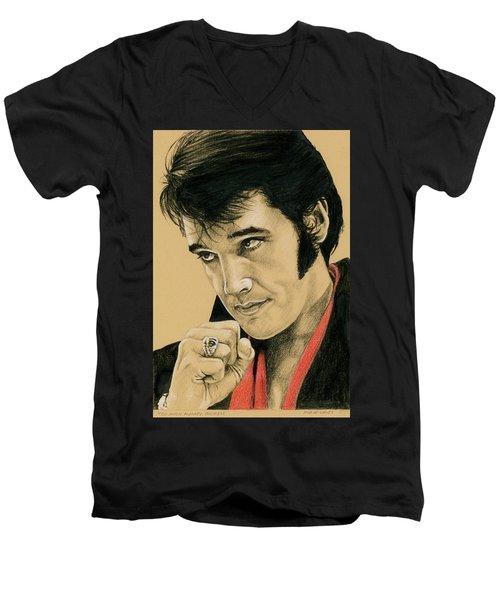Too Much Monkey Business Men's V-Neck T-Shirt