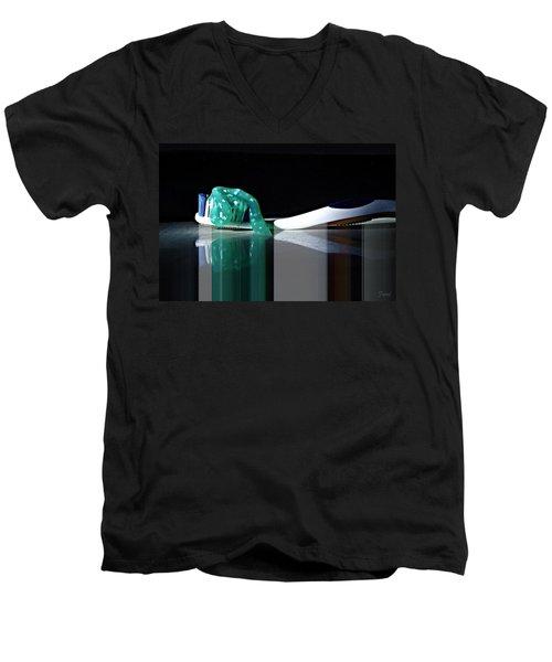 Toothbrush Men's V-Neck T-Shirt