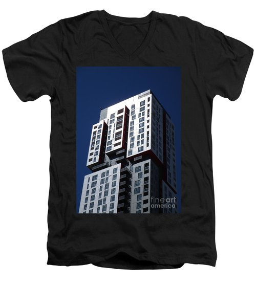 Toronto Skyscrapers 6 Men's V-Neck T-Shirt