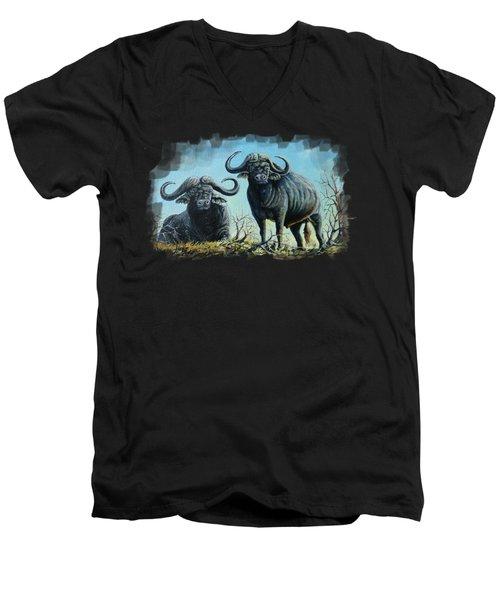 Tough Guys Men's V-Neck T-Shirt
