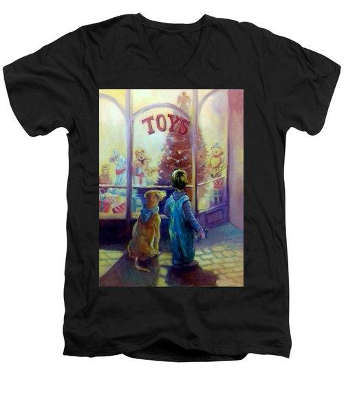 Toy Shop Men's V-Neck T-Shirt