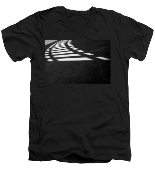 Light Rail 1 Of 1 Men's V-Neck T-Shirt