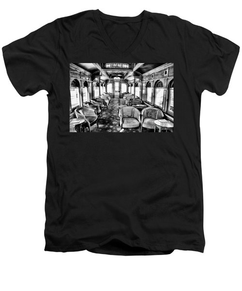 Men's V-Neck T-Shirt featuring the photograph Traveling In Style by Paul W Faust - Impressions of Light