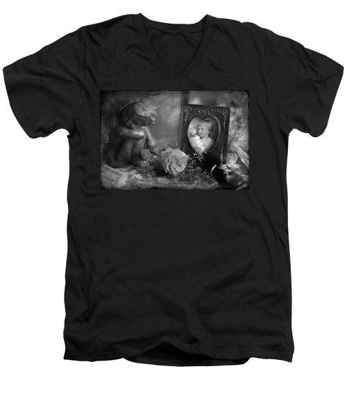 Treasured Memories Men's V-Neck T-Shirt