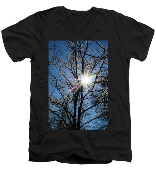 Tree Buds Men's V-Neck T-Shirt