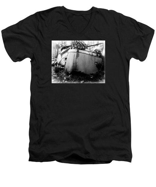 Tree Door Vw Men's V-Neck T-Shirt