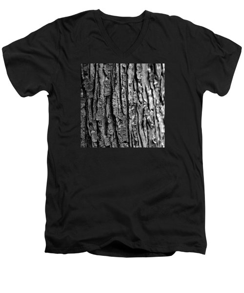 Men's V-Neck T-Shirt featuring the photograph Trees Never Gone by Dorin Adrian Berbier