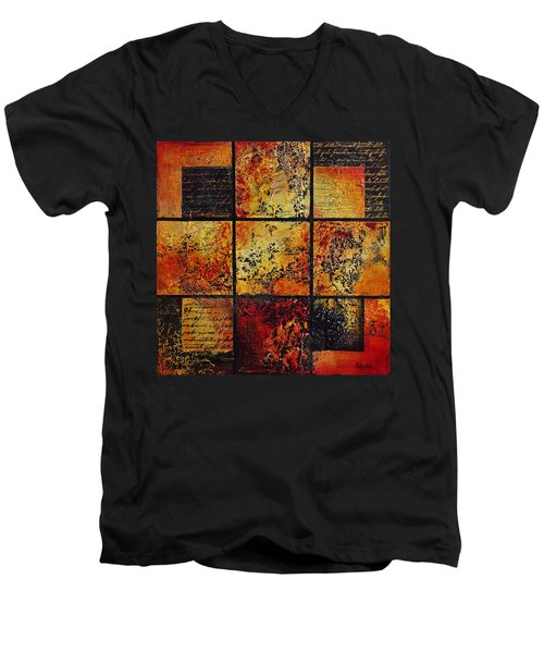 Trial By Fire Men's V-Neck T-Shirt
