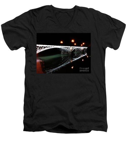 Triana Bridge Men's V-Neck T-Shirt