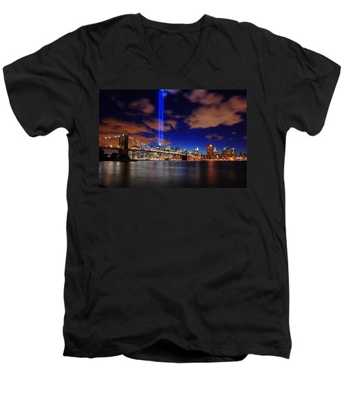 Tribute In Light Men's V-Neck T-Shirt