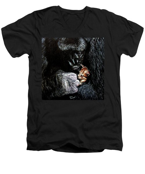 Tribute To Koko Men's V-Neck T-Shirt