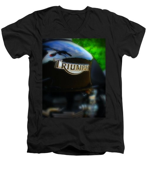 Triumph Men's V-Neck T-Shirt